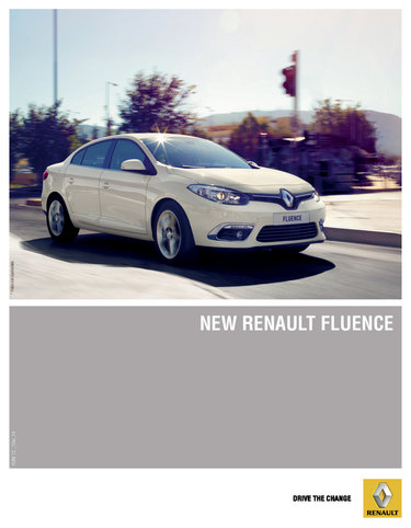 Renault Fluence- Page 1