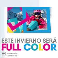 Este invierno será Full Color