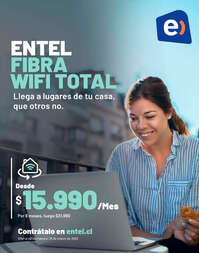 Entel Fibra Wifi Total