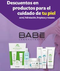 Descuentos en productos para el cuidado de tu piel