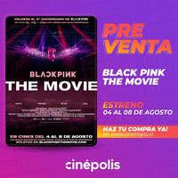 BLACK PINK THE MOVIE