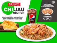 Nuevo Chijau crunch
