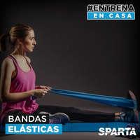 #Entrena en casas Bandas elásticas