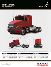 Mack Anthem 6x4 MR46 mDrive E5