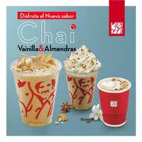 Bebida de temporada Chai Vainilla&Almendra